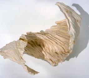 Hand Cast Paper Spiral